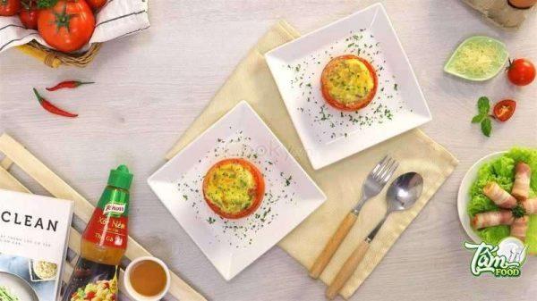 trứng cà chua