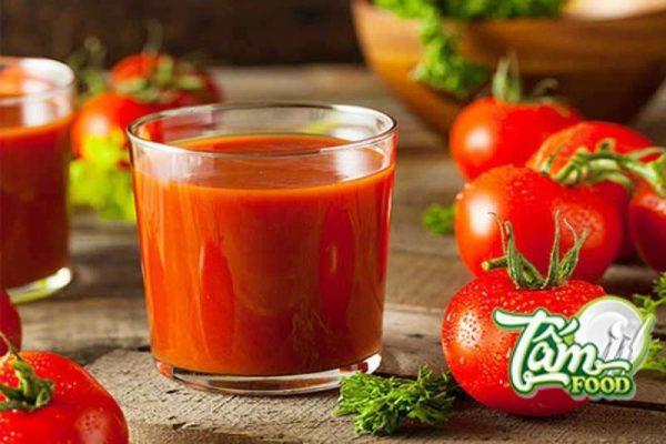 Uống nước cà chua có giảm cân không