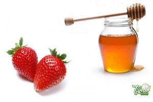 cách ngâm dâu tây mật ong