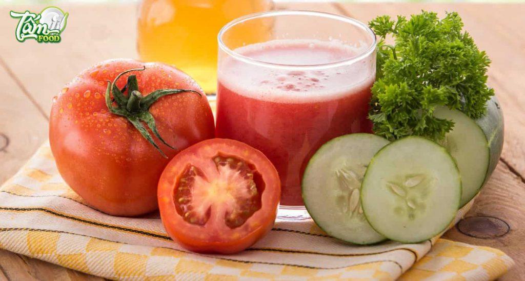 Nước ép cà chua có tốt cho bà bầu không? Bà bầu nên ăn cà chua cà rốt như thế nào?
