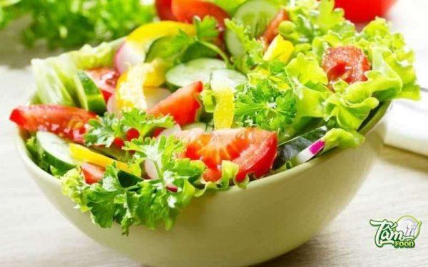 salad cà chua dưa chuột