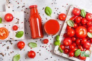 chế biến cà chua giảm cân