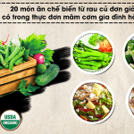 Thực đơn 4 món bổ dưỡng lại dễ làm ngay tại nhà