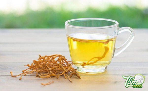 Cách pha trà đông trùng hạ thảo bổ dưỡng dễ uống