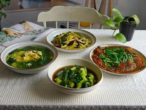 Thực đơn 4 món cho bữa trưa và buổi tối phù hợp cho ngày nóng