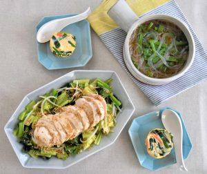 Thực đơn 3 món rất thanh đạm, giúp giảm cân, phù hợp cho những ngày nóng
