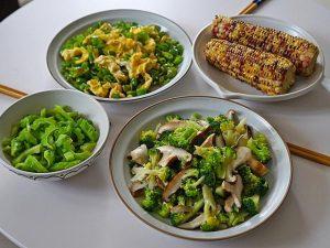 Thực đơn dành cho gia đình 3 người vào những ngày nắng chỉ muốn ăn món thanh đạm